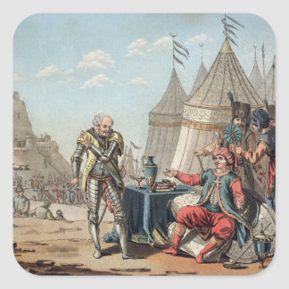 Philippe Villiers de L'Isle-Adam (1464-1534) refus Fyrkantiga Klistermärken