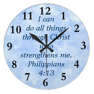 philippians4:13 stor klocka
