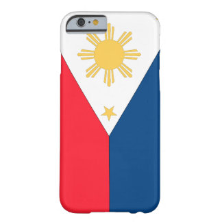 Philippines flagga barely there iPhone 6 skal