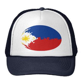 Philippines Gnarly flaggahatt Baseball Hat