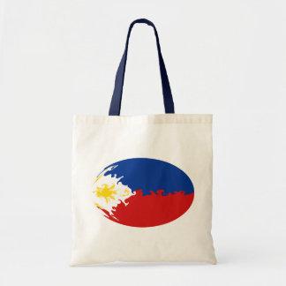 Philippines hänger lös den Gnarly flagga Tygkasse