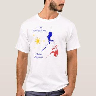 Philippines kartlägger den grafiska T-tröja Tshirts