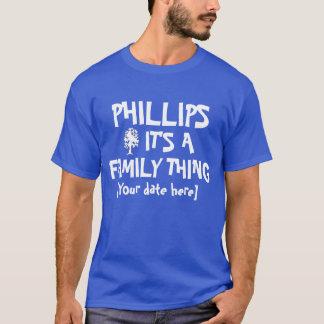 Phillips familjmöte t-shirt