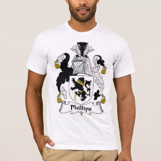 Phillips familjvapensköld t shirts
