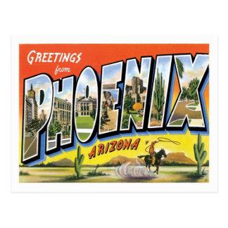 Phoenix Arizona hälsningar från US-stad Vykort