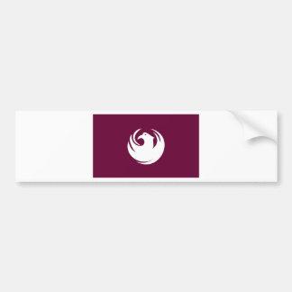 phoenix flagga bildekal