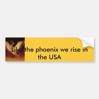 Phoenix gillar phoenixen som vi stiger i USA Bildekal