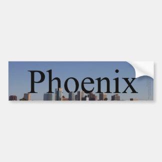 Phoenix horisont med Phoenix i himmlen Bildekal