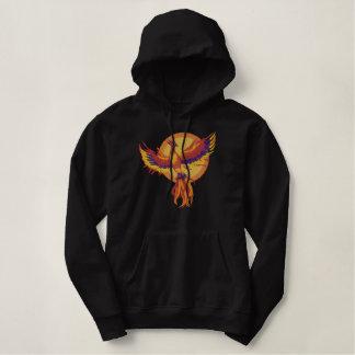 Phoenix resning broderad luvtröja
