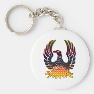 Phoenix Rund Nyckelring