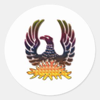Phoenix Runt Klistermärke