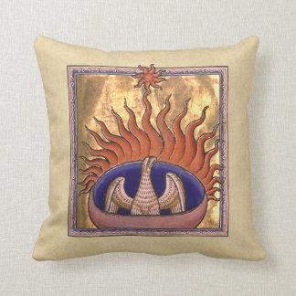 Phoenix stigning från askaen kudde