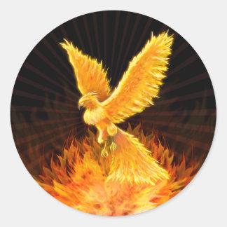 Phoenix stigning - klistermärken