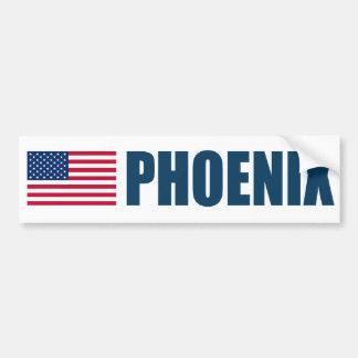 Phoenix US flagga Bildekal