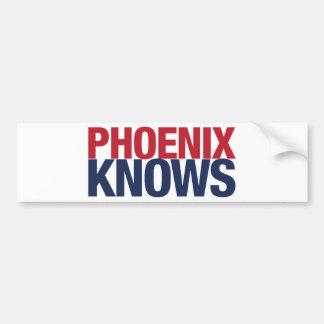 Phoenix vet bildekal