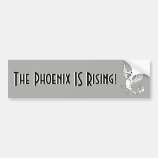 Phoenixen ÄR resningbildekalet Bildekal