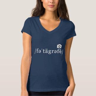 Phonetic fotografi (marinT-tröja som, är Tröjor