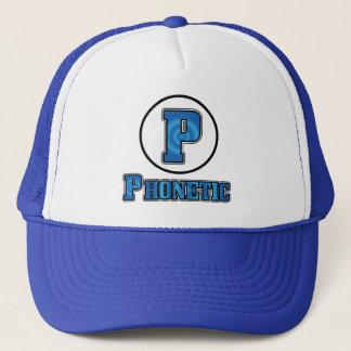 Phonetic logotyplockdesign 2 truckerkeps