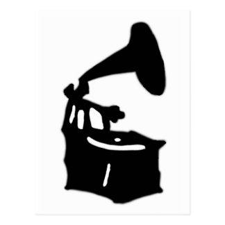 Phonograph Vykort
