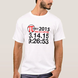 Pi-dag 2015 tee shirt