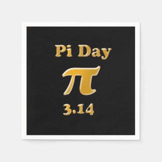 Pi-dag 2016 pappersservett