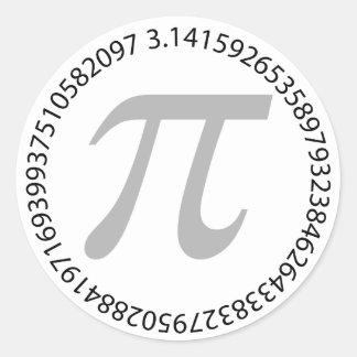 pi-dagfirande är roligt runt klistermärke