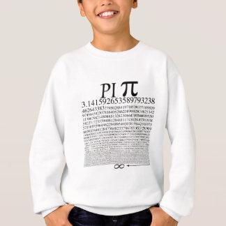 Pi kvadrerar svart t-shirt