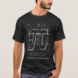 Pi numrerar teckningen t shirt