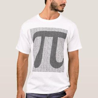 Pi till T-tröja för 10.000 decimaler T Shirts