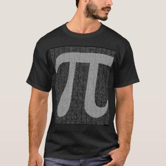 Pi till T-tröja för 10.000 decimaler T-shirts