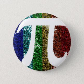 Pi undertecknar elkraft standard knapp rund 5.7 cm