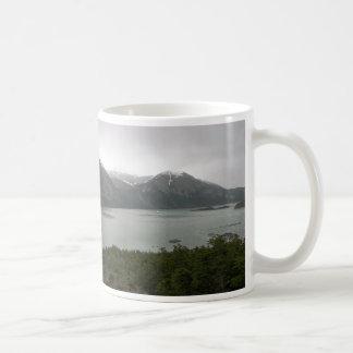 Pia-fjorden, Chile, med maren som är australis på, Kaffemugg