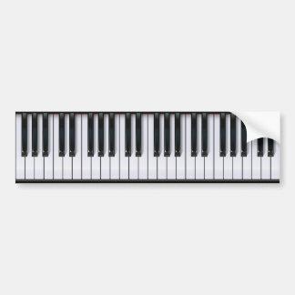 Piano Bildekal