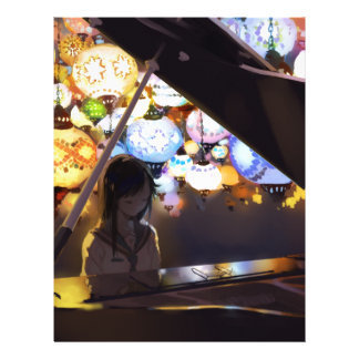 Piano i mörken brevhuvud