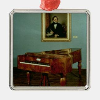 Piano som hör hemma till Franz Peter Schubert Julgransprydnad Metall