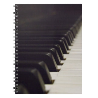 Pianoforteanteckningsbok Anteckningsbok Med Spiral