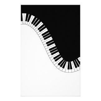 PIANOMUSIK BREVPAPPER
