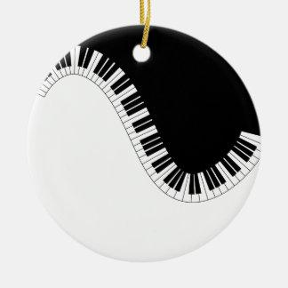PIANOMUSIK JULGRANSPRYDNAD KERAMIK