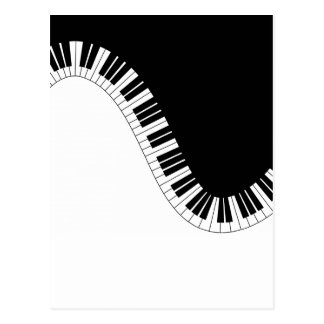 PIANOMUSIK VYKORT