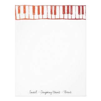 Pianonycklar Brevhuvud
