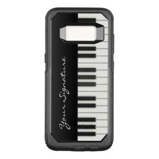 Pianonycklar med häftet OtterBox commuter samsung galaxy s8 skal