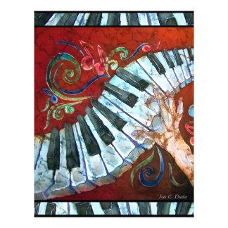 Pianopapper 2 brevhuvud