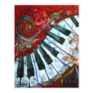 PIANOPAPPER - ett tangentbord erfar Brevhuvud