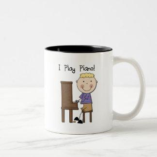 PianospelareTshirts och gåvor Kaffe Mugg