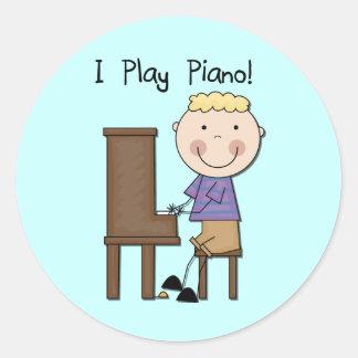 PianospelareTshirts och gåvor Klistermärken