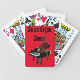 Pianot är en organoljedosering spelkort