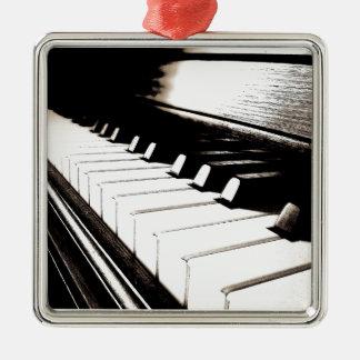 Pianot stämm makro julgransprydnad metall