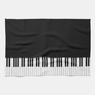 Pianotangentbordnycklar Kökshandduk