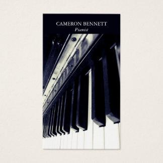 Pianovisitkort Visitkort