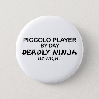 Piccolo dödliga Ninja vid natt Standard Knapp Rund 5.7 Cm